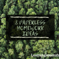8 paperless homework ideas to save the environment