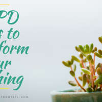 5 CPD ideas to transform your teaching