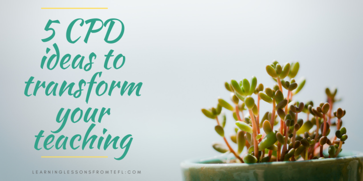 5 CPD ideas to transform yourteaching