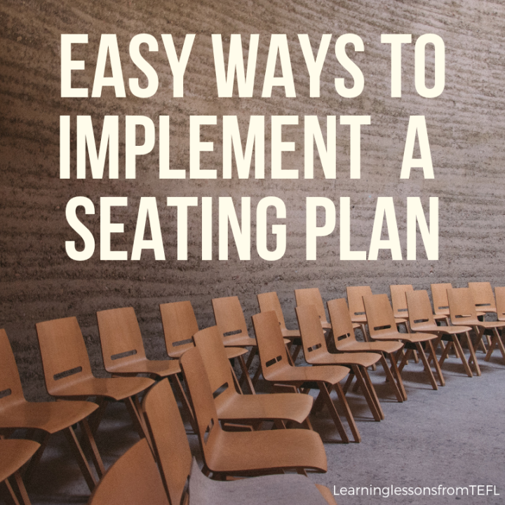 Easy ways to implement a seatingplan