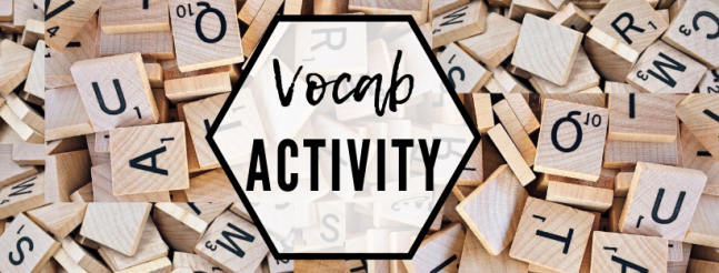 Vocab Activity