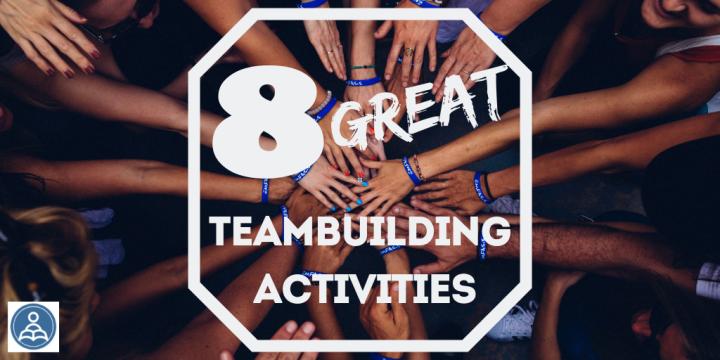 8 great team buildingactivities