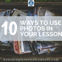 10 ways to use photos in your lessons