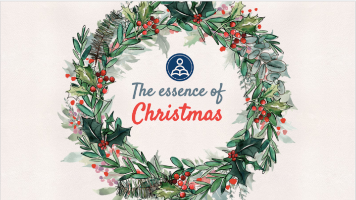 The essence of Christmas: an online Xmas lesson