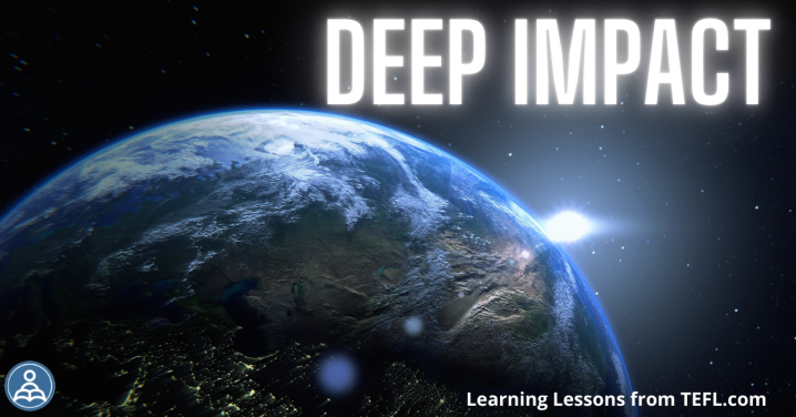 Deep Impact: A lesson looking at the environmental cost of spacetourism