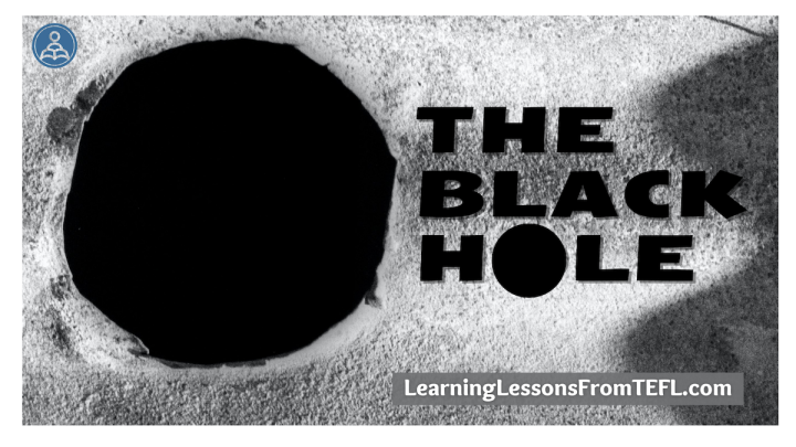 The Black Hole: A lessonplan